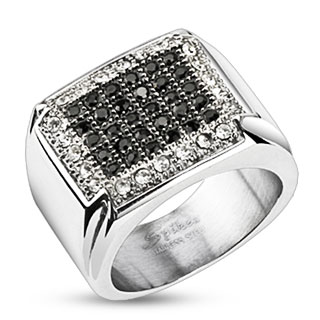 Micro Paved Cubic Zirconia Ring
