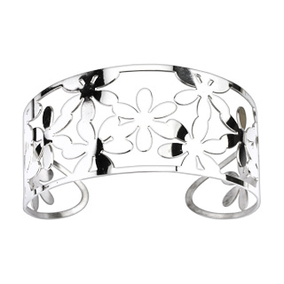 Multi Flowers Pattern Bangle