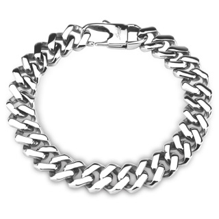 Chain Bracelet Square Links