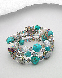 Mixed Casual Bangle