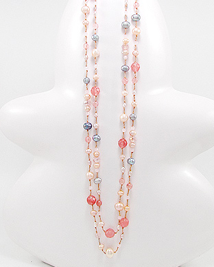 Combination Water Pearls Necklace