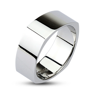 Mirror Polished Square Band