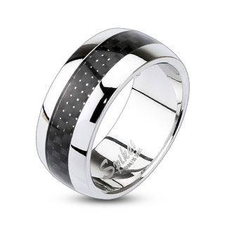 Carbon Fiber Inlay Centre Dome Band