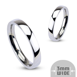 Glossy Mirror Polished Band